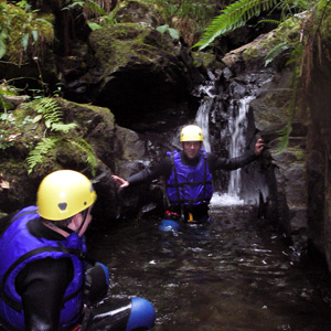 Canyoning in Perthshire
