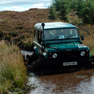 On Wheel Activities in Perthshire