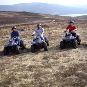 Quad Biking in Perthshire