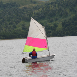 Sailing in Perthshire
